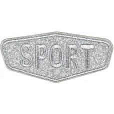 Термоаппликация Спорт (блестящий)