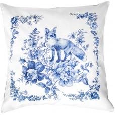 Набор для вышивания подушки Лисица
