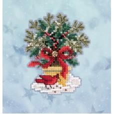 Набор для вышивания бисером Новогодняя ель