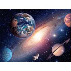 Картина стразами Планеты в космосе