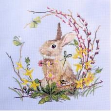 Набор для вышивания Весенний кролик