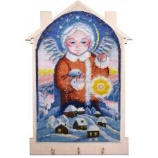 Набор для создания ключницы Снежный ангел