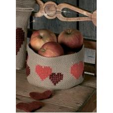 Набор для вышивания мешочка Сердечко