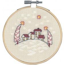 Набор для вышивания Домики