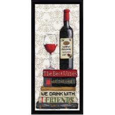 Набор для вышивания Красное вино