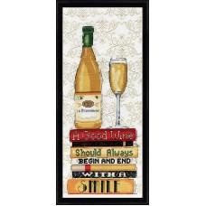 Набор для вышивания Белое вино