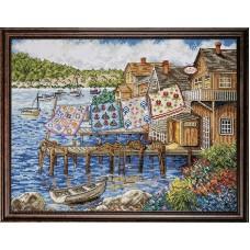 Набор для вышивания Квилты в порту