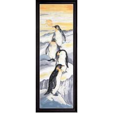 Набор для вышивания Пингвины