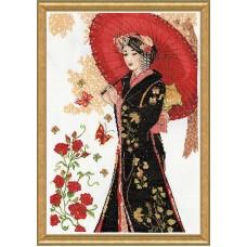 Набор для вышивания Красный зонт
