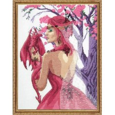 Набор для вышивания Принцесса драконов