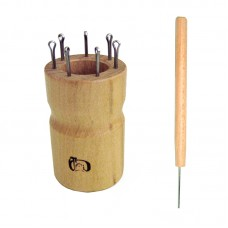 Куколка  для вязания шнура на 7 крючков, круглая