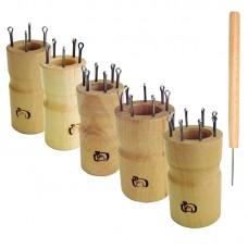 Набор куколок для вязания шнура, круглые