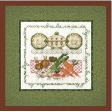 Набор для вышивания: LA SOUPE DE LEGUMES (Овощной суп)