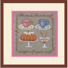 Набор для вышивания: A LHEURE (Время чая)