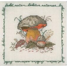 Набор для вышивания: BOLET SATAN (Сатанинский гриб)