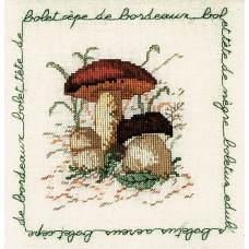 Набор для вышивания: BOLET CEPE DE BORDEAUX (Белый гриб)