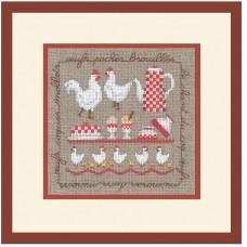 Набор для вышивания: LES POULES (Куры)