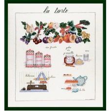 Набор для вышивания: LA TARTE (Пирог)