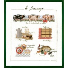 Набор для вышивания: LE FROMAGE (Сыр)