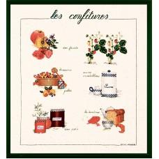 Набор для вышивания: CONFITURE (Конфитюр)