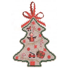 Набор для вышивания: SAPIN JOUETS (Ёлка Игрушки)