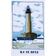 """Набор для вышивания: PHARE """"ILE DE BATZ""""  (Маяк Иль до Бац)"""