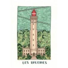 Набор для вышивания: PHARE LES BALEINES (Маяк Бален)