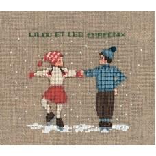 Набор для вышивания: DEUX DANSEURS (Два танцора на льду)