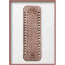 Деревянный органайзер для мулине с парковочным магнитом