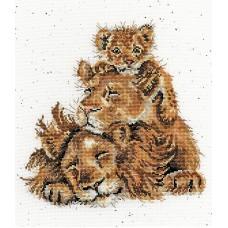 Набор для вышивания Family Pride (Львиный прайд)