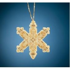 Набор для вышивания бисером Викторианская снежинка