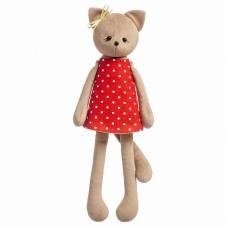 Набор для изготовления кукол и мягких игрушек Котёнок Кнопка