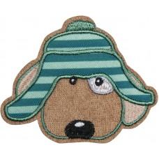 Термоаппликация Собака в шляпе