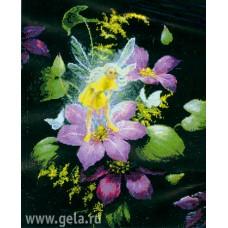 Набор для вышивания Фея на цветке