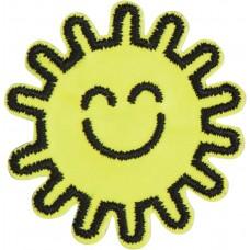 Термоаппликация Солнце с рефлексом лица