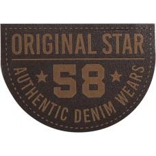 Термоаппликация Оригинальная Звезда 58