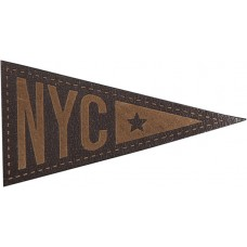 Термоаппликация Нью-Йорк со звездой