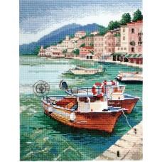 Набор для вышивания Лодки
