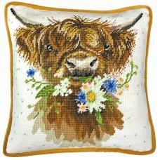 Набор для вышивания подушки Daisy Coo (Воркующий Дэйзи)