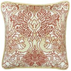 Набор для вышивания подушки Dove And Rose William Morris (Голубь и роза)