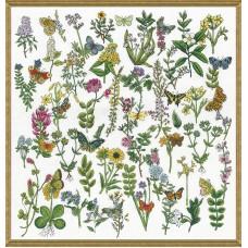 Набор для вышивания Красота Ботаники