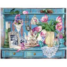 Набор для вышивания Цветочный уголок