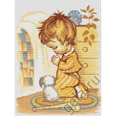 Набор для вышивания,Мольба мальчика, Luca-S