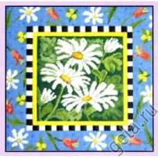 NP Набор для вышивания, подушка Маргаритки