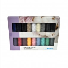 Набор с нитками Silk Finish  в подарочной упаковке, 18 катушек