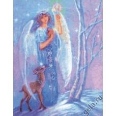 Набор для вышивания Ангел зимы