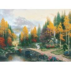 ECX Набор для вышивания Долина мира