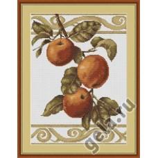 Набор для вышивания,Веточка яблони,Luca-S