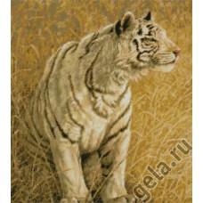Набор для вышивания Охота белого тигра