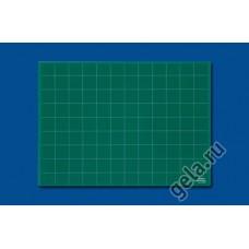 Мат профессиональный раскройный односторонний, толщина 3 мм, 62 х 45 см